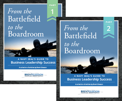 Brent Gleeson E-book - From the Battlefield to the Boardroom